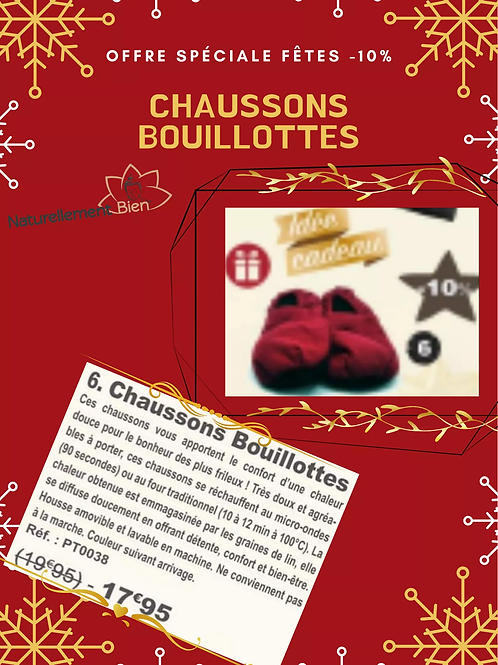 Chaussons Bouillottes