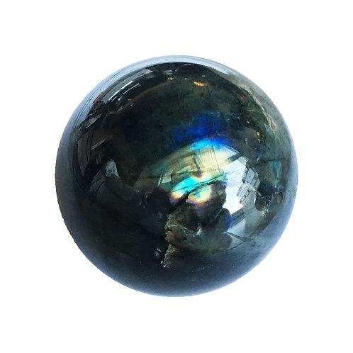 Sphère de Labradorite (entre 50 et 55 mm)