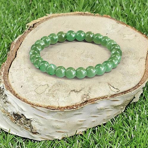 Bracelet «Apaisement» Aventurine Verte