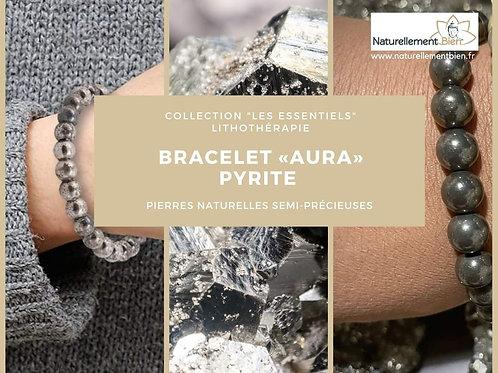 Bracelet «Aura» Pyrite