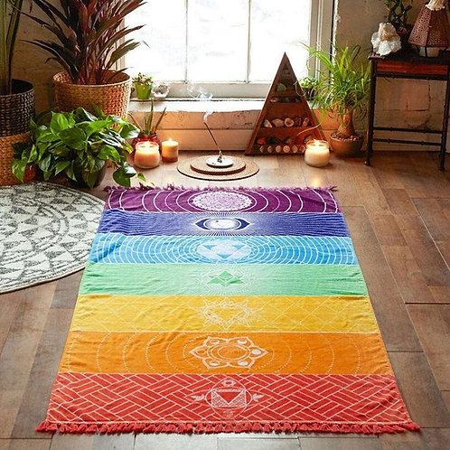 Toile Méditation «7 Chakras»