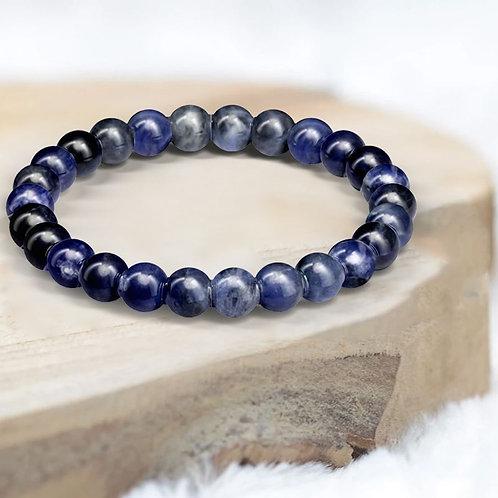 Bracelet «Méditation» Sodalite