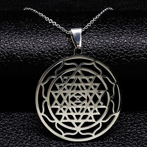 Collier Sri Yantra
