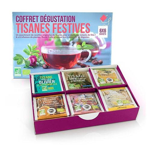 Coffret dégustation Tisanes Festives Bio