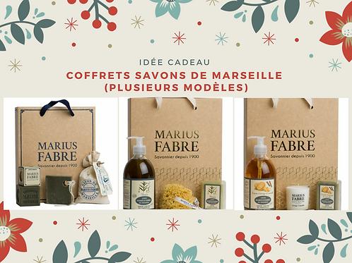 Coffrets savons de Marseille