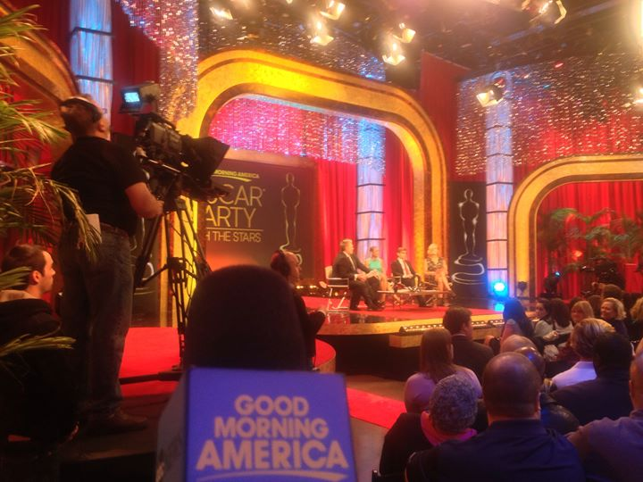 LIVE from GMA Oscars show!