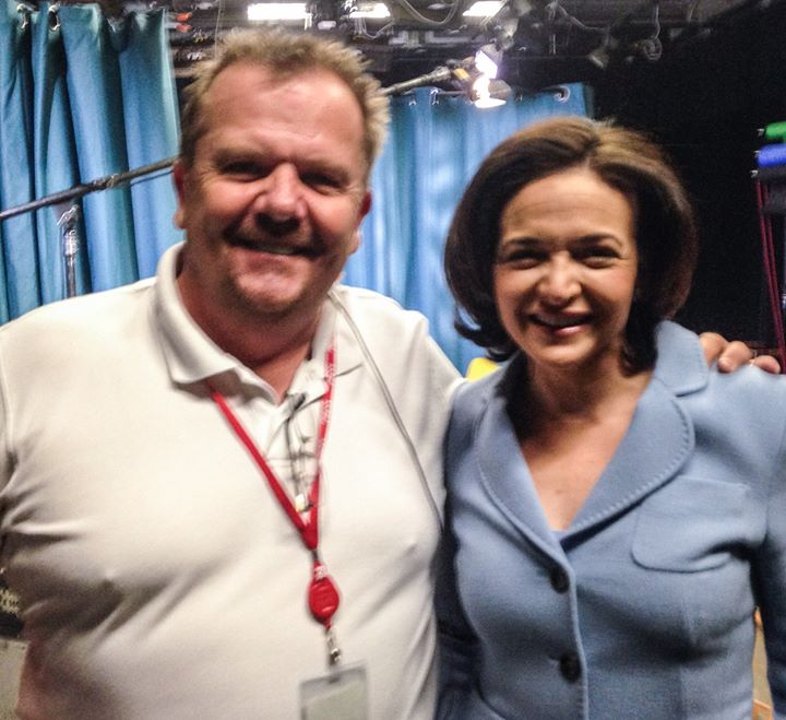 With the Boss Sheryl Sandberg!!