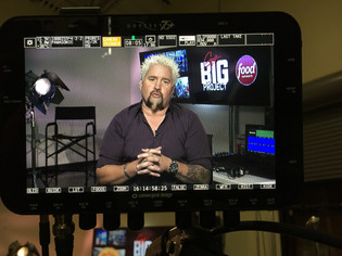 LIVE SMT with Guy Fieri for his new show #guybigproject for TV Food Network and our Friends at PSSI!