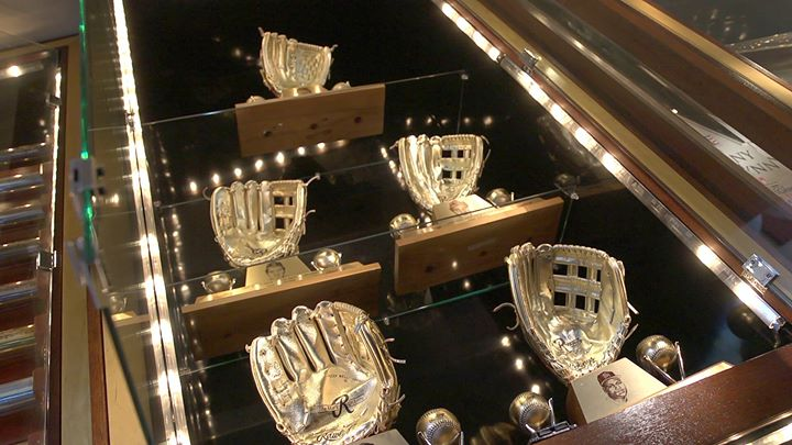 5 Gold gloves