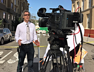 LIVE for RTE From Berkeley Balcony Collapse