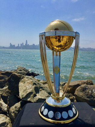 Shoot for ICC World Cup Trophy Tour