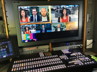 LIVE Worldwide Broadcast from London, New York and Bejing at Pebble Beach with SONY MVS3000 switcher