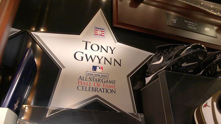 At Tony Gwynn's Home!