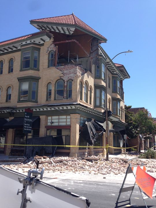LIVE from Napa after Earthquake