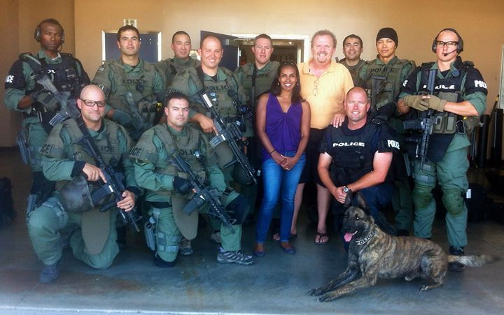 Shoot with SWAT Team for AMW