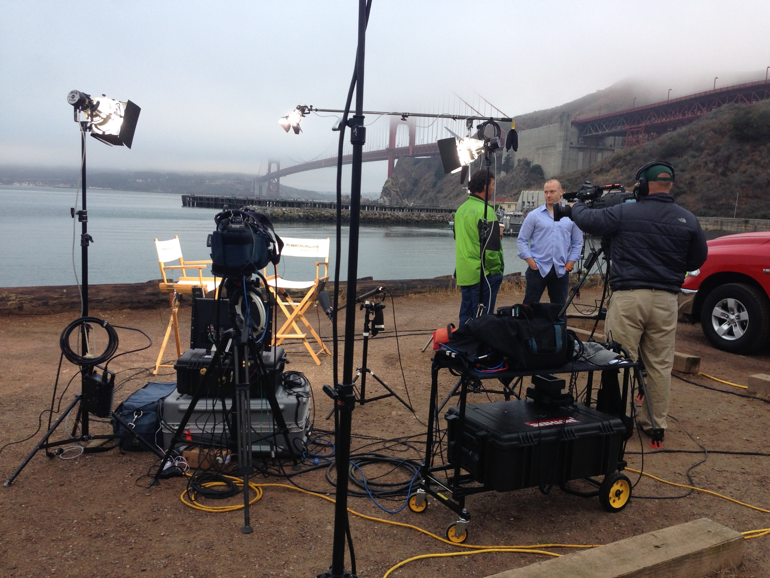 LIVE again from the GG Bridge!