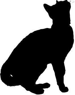 [フリーイラスト素材] クリップアート, 猫 _ ネコ, 哺乳類, 動物 _ 生