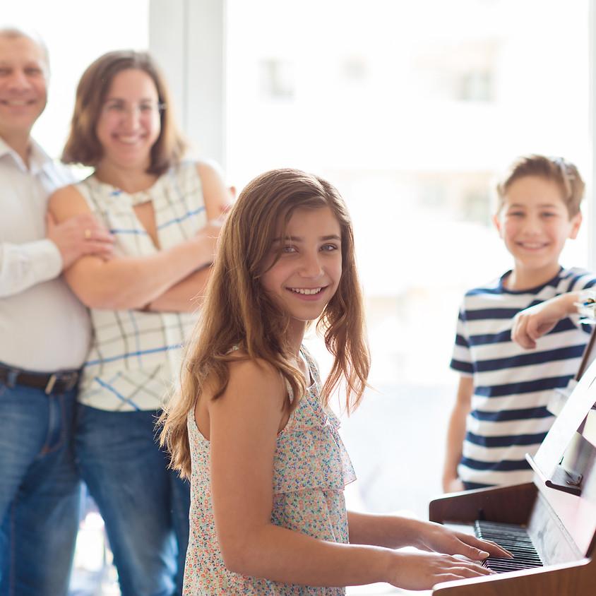 Free Parent Orientation - Happy Adventures: Intro to Piano