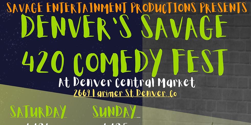 420 Comedy Fest @ Denver Central Market! (Sunday)