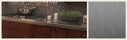 stainless steele countertops