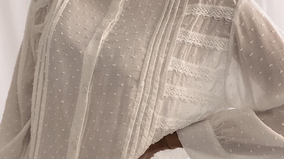 Camisa Audrey / Off White