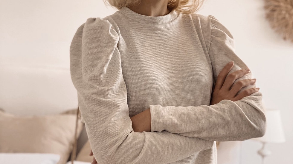 New Sweater Anne Wafle / Melange