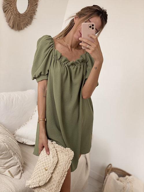 Little Adolfina Dress / Safari