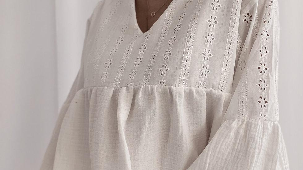 Blusa India / Off White