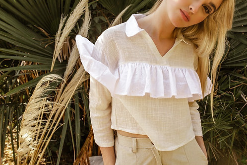 Camisa Liona / Off White