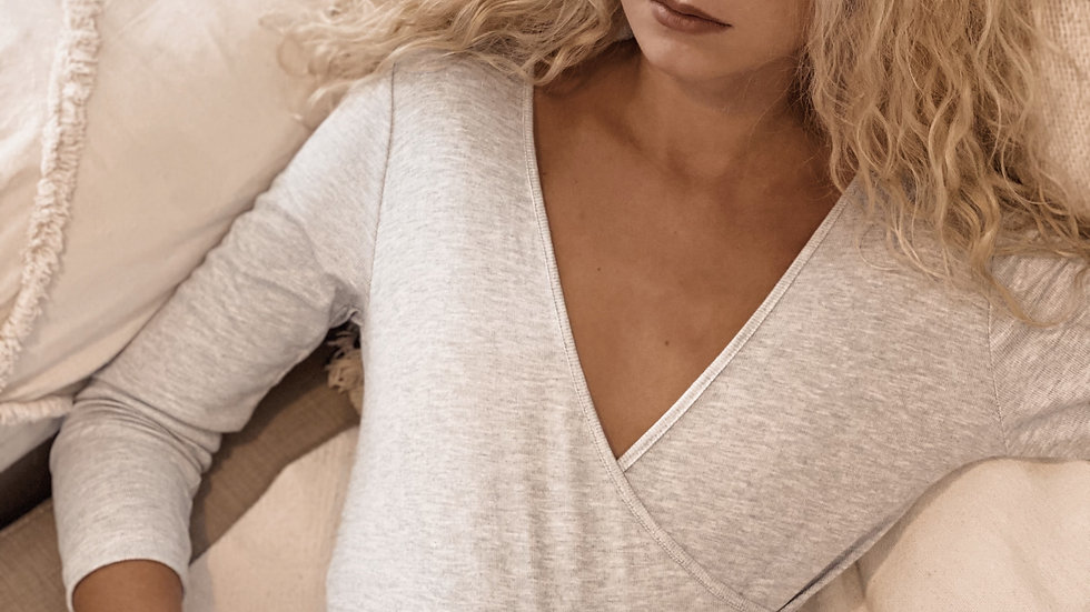 Body Claire / Gris Melange