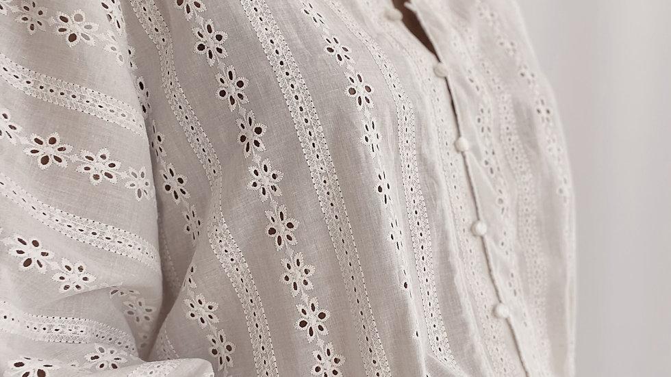 Camisa Simone Broderie / Off White