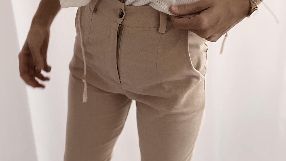 New Santorini Pants / Camel