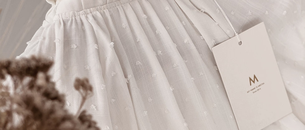 Blusa Helen Plumetti / Off White
