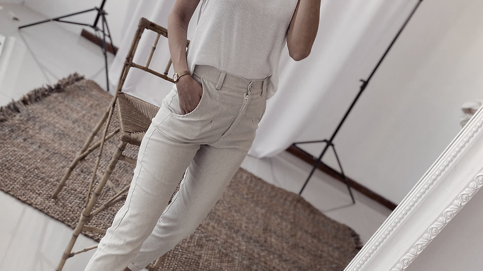 Burdeos Pants / Sand