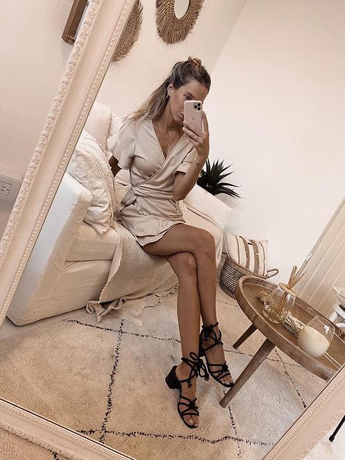 Ampi Dress / Beige