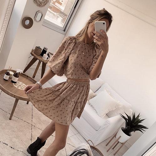 Kenia Skirt / Est. Beige
