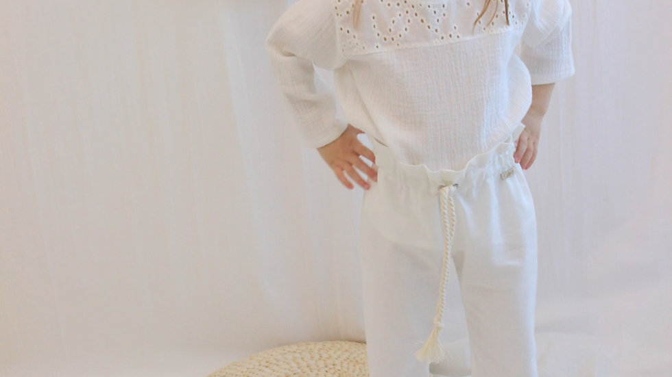 Mini Blusa Napoles / Off White