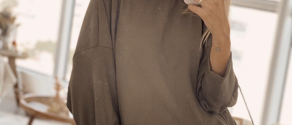 Amber Shirt Wafle / Militar