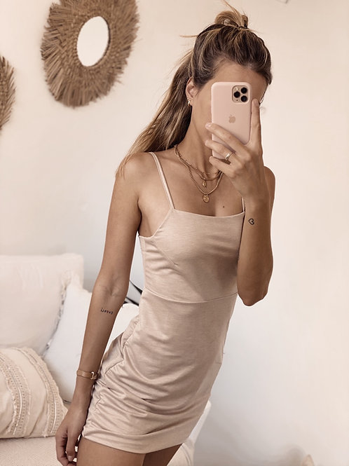 Curcuma Dress / Beige