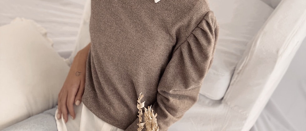 New Sweater Anne / Cemento
