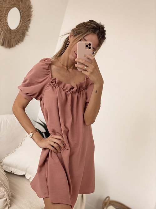 Little Adolfina Dress / Pink