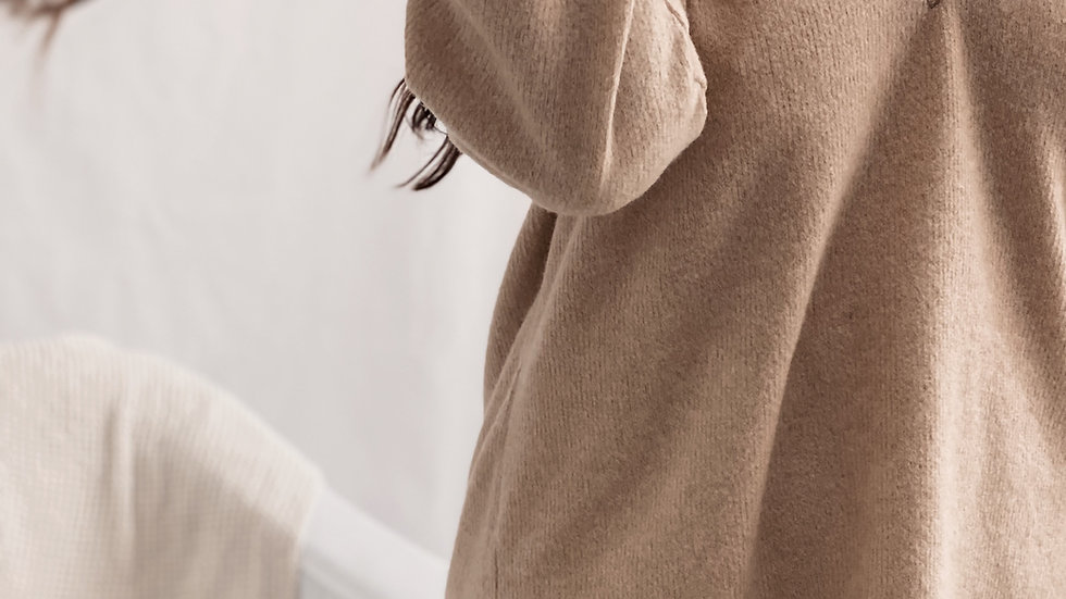 Sweater Pompeya / Camel
