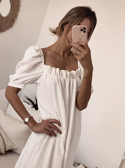 Adolfina Dress / Off White
