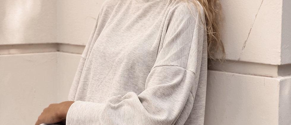 Amber Shirt Wafle / Melange