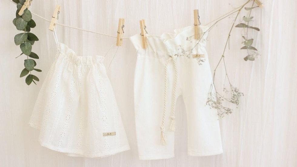 Mini El Nido Pants / Off White