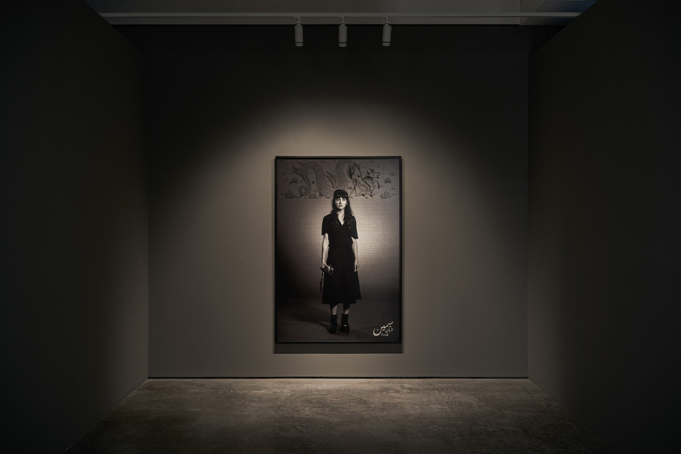 Shirin Neshat, Land of Dreams, Installation View, Goodman Gallery London