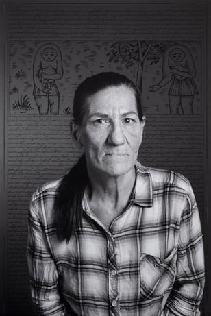 Martha Perez, from Land of Dreams series, 2019 I C-print & ink I 61 x 91.4 cm