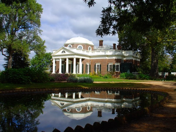 Thomas Jefferson's Monticello, Charlottesville