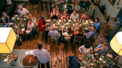 Birds eye view of dinner at Ankida pic.jpg