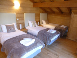 Bedroom 5, triple beds